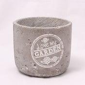 Cementový květináč Garden, 14 cm