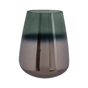 Zelená skleněná váza PT LIVING Oiled, výška 23 cm
