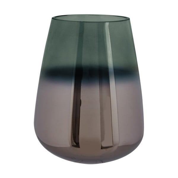 Zielony wazon szklany PT LIVING Oiled, wys. 23 cm