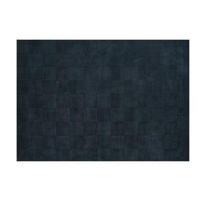 Vlněný koberec Luzern, 140x200 cm, ocelová modř