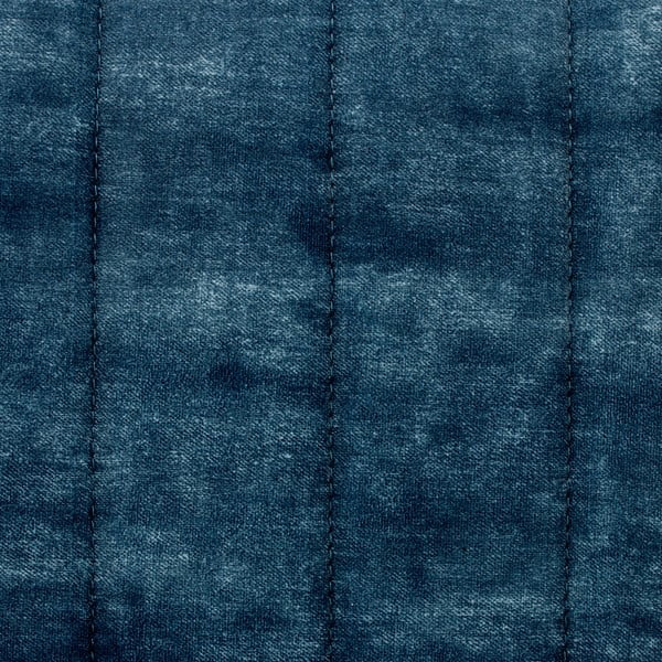 Tmavě modré křeslo Vivonita Leila