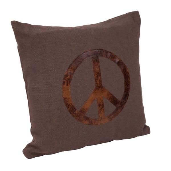 Polštář s výplní Peace, 40x40 cm