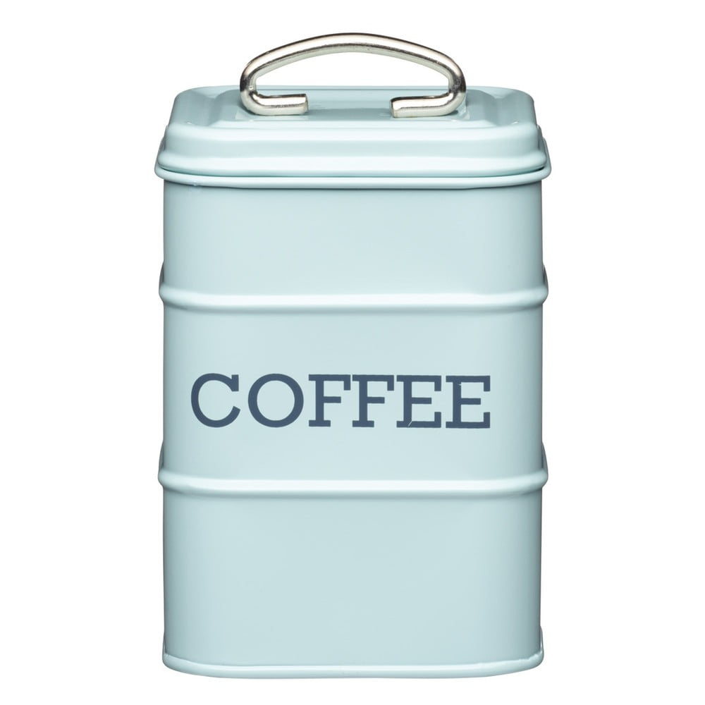 Modrá plechová dóza Kitchen Craft Coffee