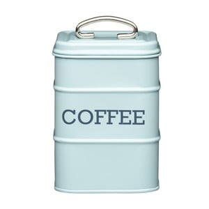 Modrá plechová dóza na kávu Kitchen Craft Nostalgia