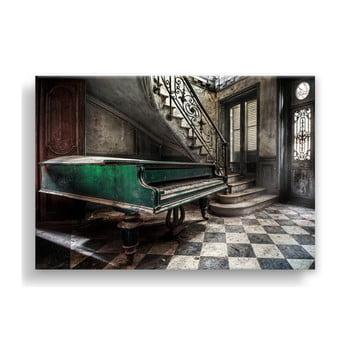 Tablou Styler Canvas Silver Uno Piano, 85 x 113 cm de la Styler