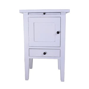 Noční stolek z masivního dřeva se šuplíky Ego Dekor Bretagne