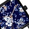 Set dámským hodinek s nerezovým páskem v černé barvě a černého náramku Emily Westwood Garro