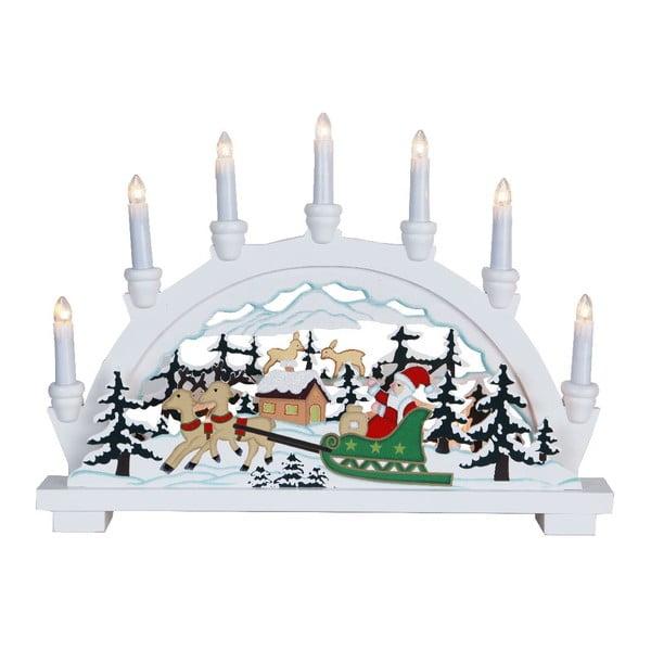 Svítící dekorace Best Season Santa in Sledge