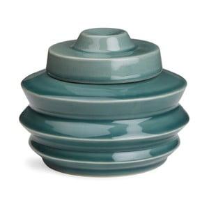 Petrolejově modrá dóza Kähler Design Cono