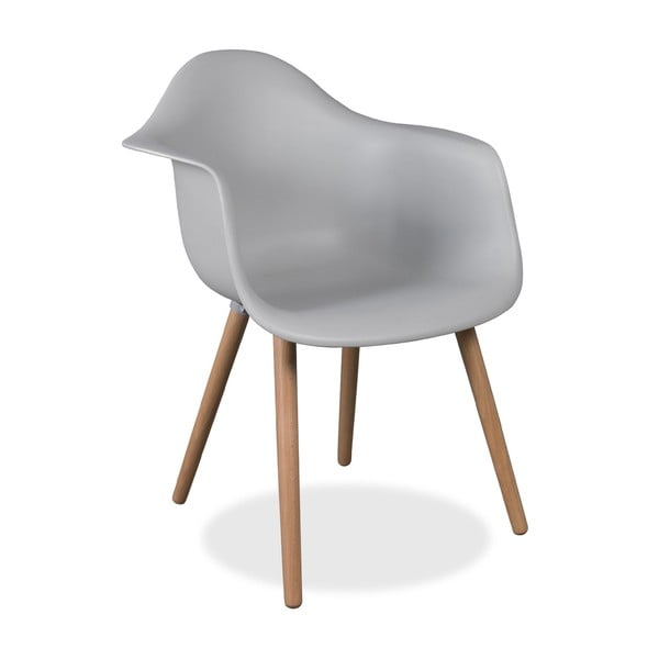 Židle Dimero Simple Legs Grey