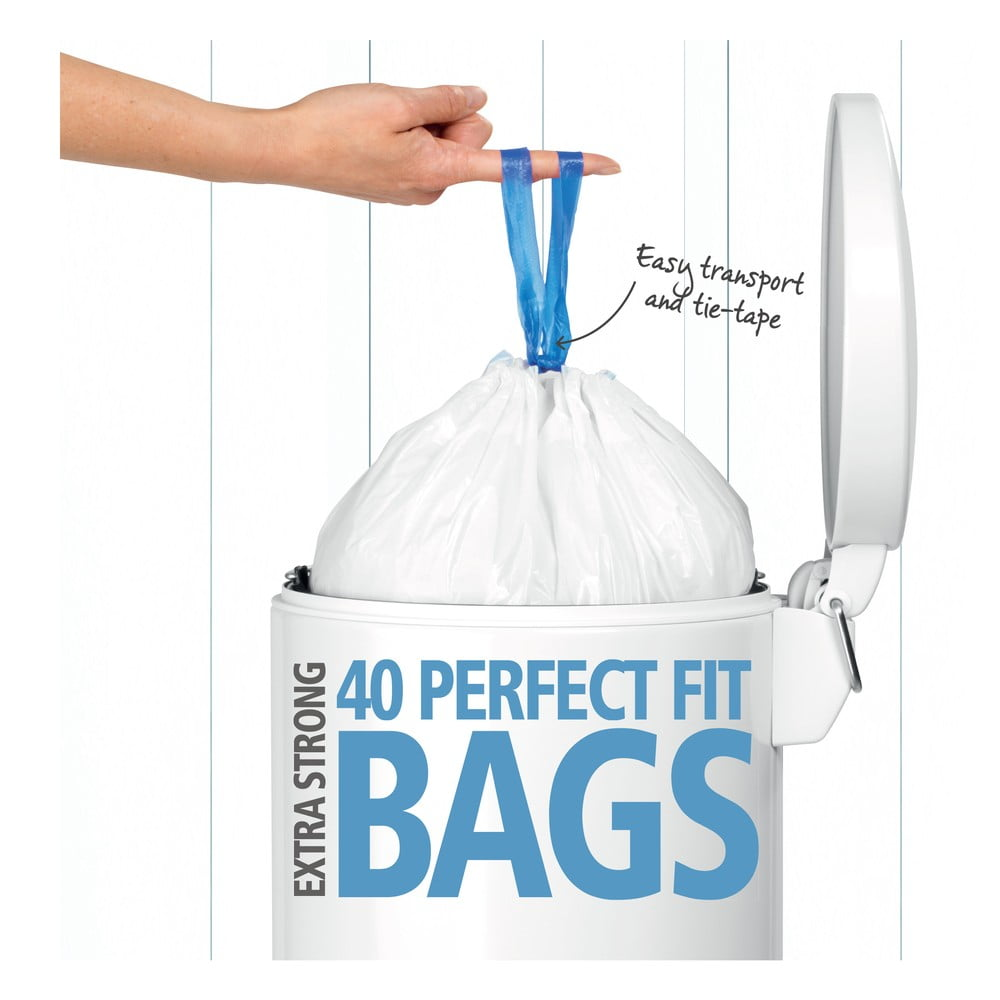 Dávkovač 40 odpadkových pytlů do koše Brabantia Perfect Fit, 20 l