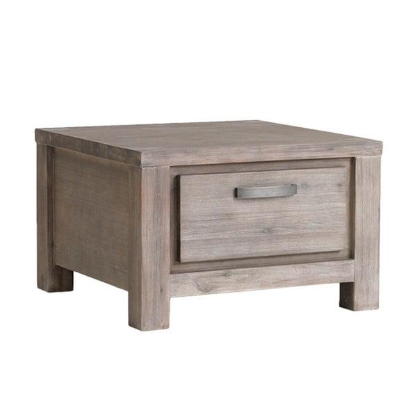 Konferenční stolek z akáciového dřeva Furnhouse Alaska,70x70cm