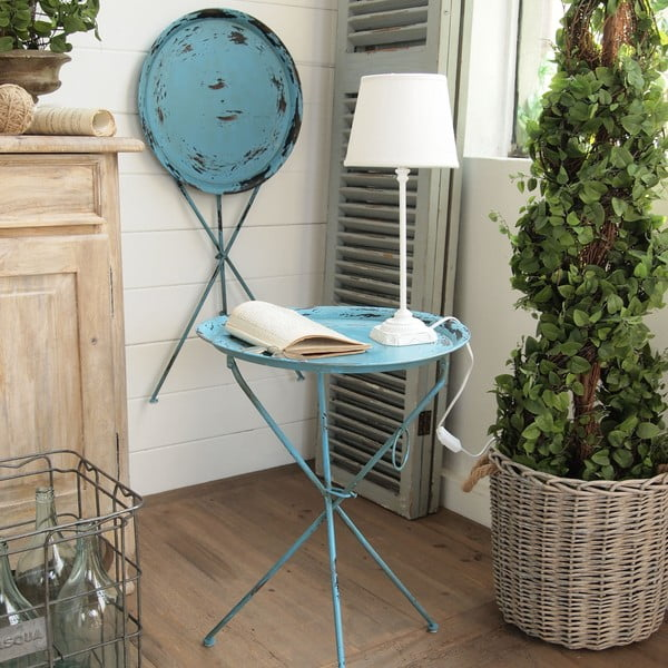 Odkládací stolek Little Antique Blue