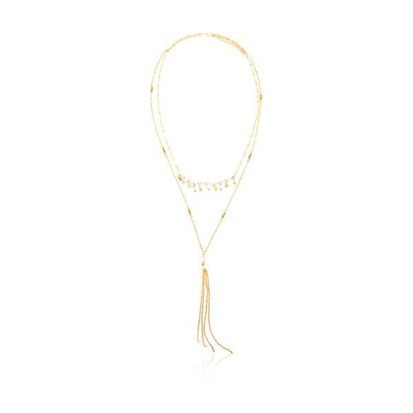 Dámsky náhrdelník v zlatej farbe NOMA Betha