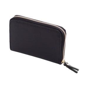 Černá peněženka z kůže Andrea Cardone Saffiano