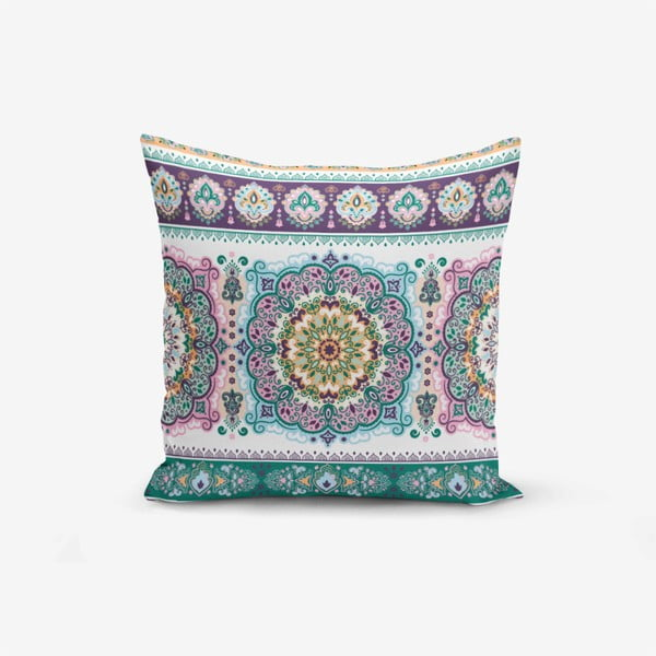 Față de pernă Minimalist Cushion Covers Ethnic Geometric, 45 x 45 cm