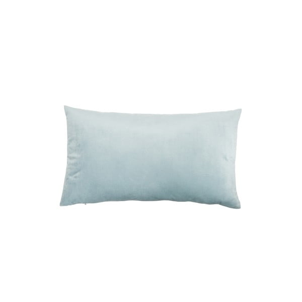 Polštář Velour Gray Blue, 50x30 cm
