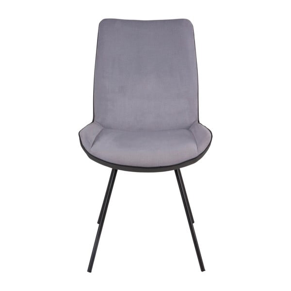 Sada 2 šedých židlí sømcasa Norma