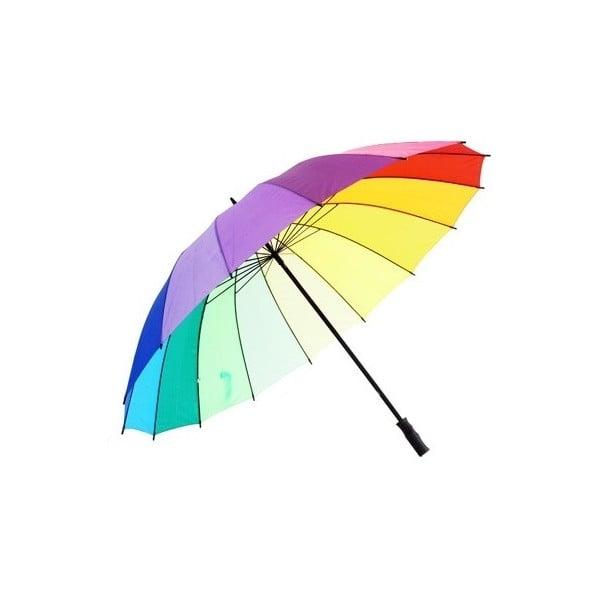 Deštník Bright Rainbow Golf