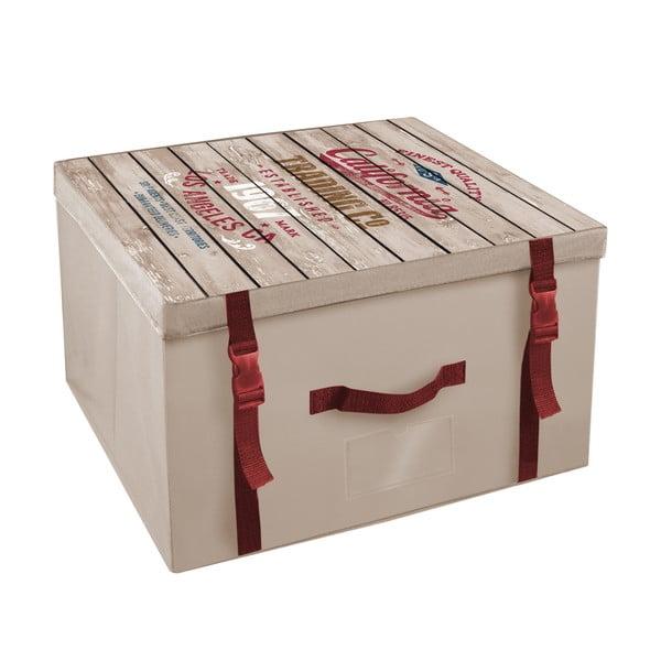 Úložná krabice Ordinett Old California, 50x40cm
