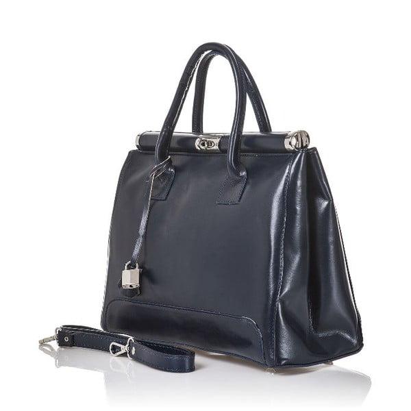 Kožená kabelka Gelso, tmavě šedá