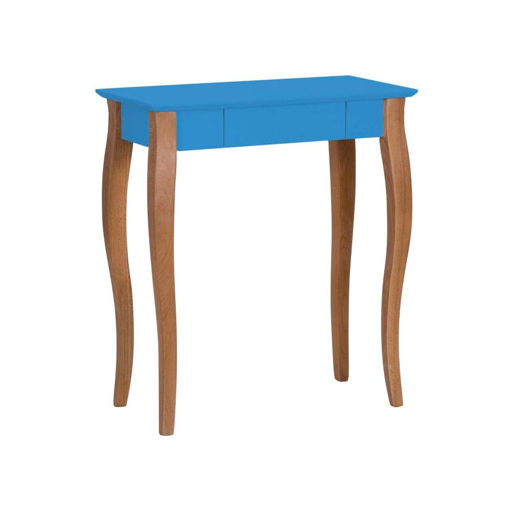 Modrý psací stůl Ragaba Lillo, šířka 65 cm