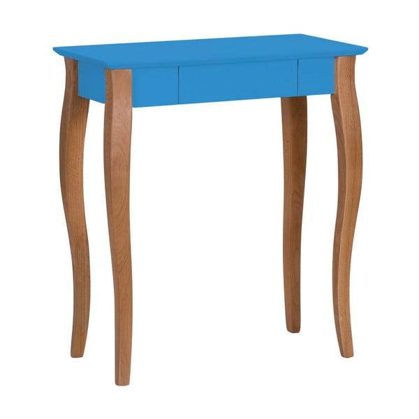 Modrý psací stůl Ragaba Lillo, šířka65cm