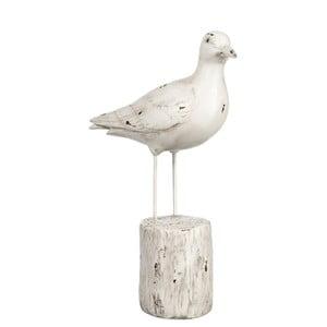 Dekorace Bird on Trunk, 21x8x29 cm