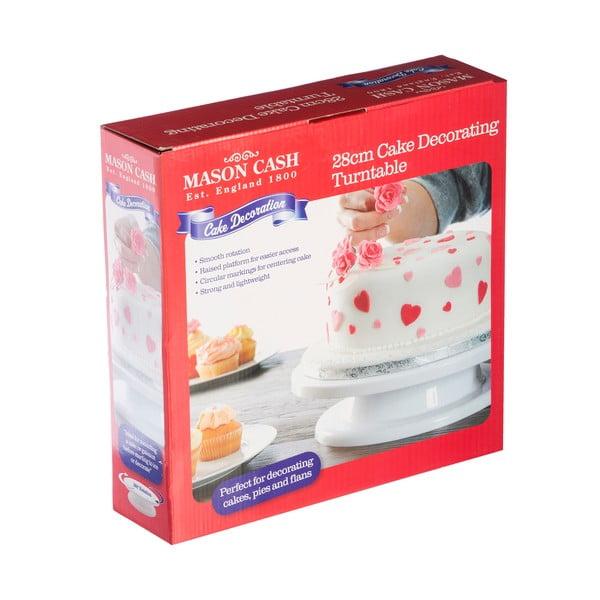 Bílý otočný stojan na dort Mason Cash Cake, ⌀ 28 cm