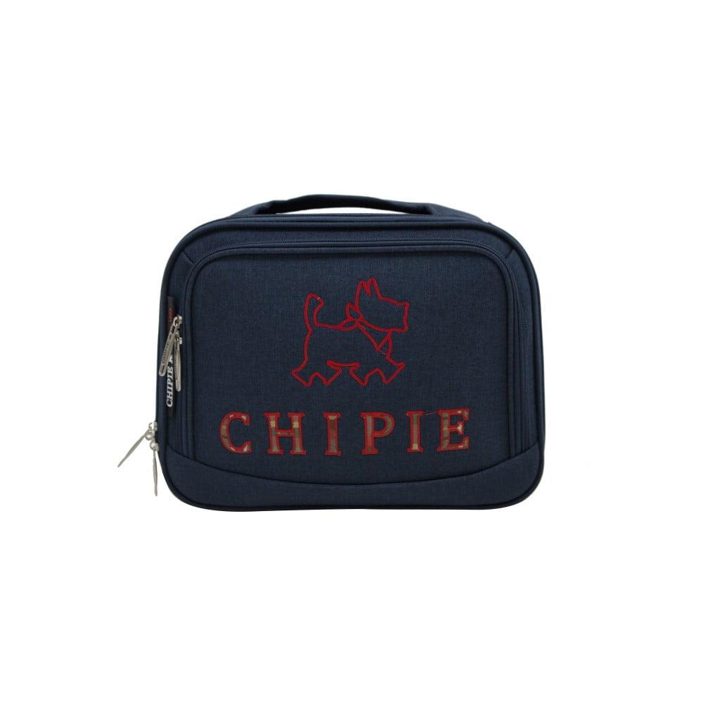 Tmavě modrý příruční kufr LULU CASTAGNETTE Chipie, 11l