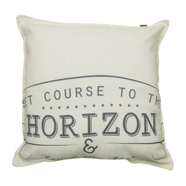 Krémový polštář OVERSEAS Horizon,45x45cm