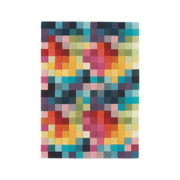 Vlněný koberec Funk Boxes, 140x200 cnm