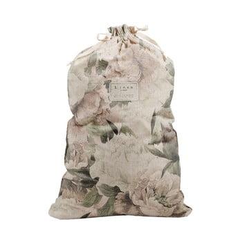 Sac textil pentru haine Linen Couture Bag Lily, înălțime 75 cm imagine