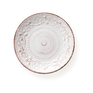 Bílý dezertní talíř z kameniny Brandani Serendipity, ⌀ 21 cm