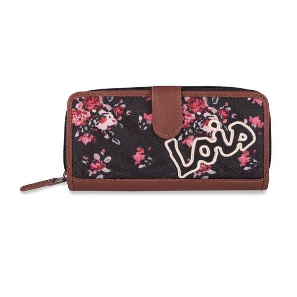 Peněženka Lois Roses, 18x9 cm