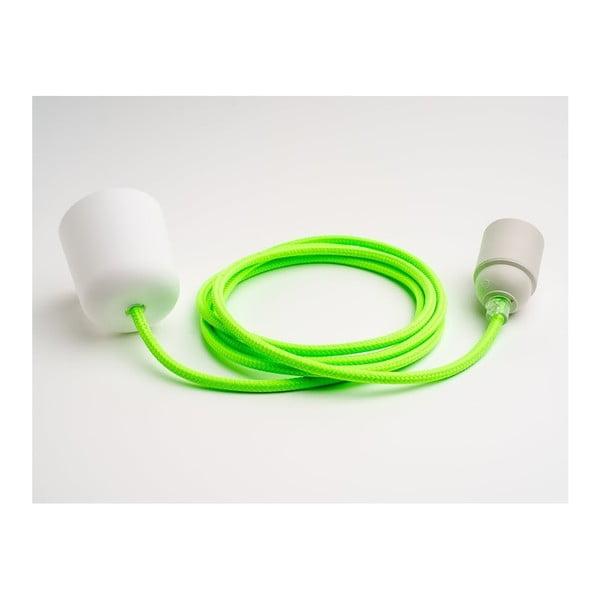 Barevný  kabel Loft, limetka
