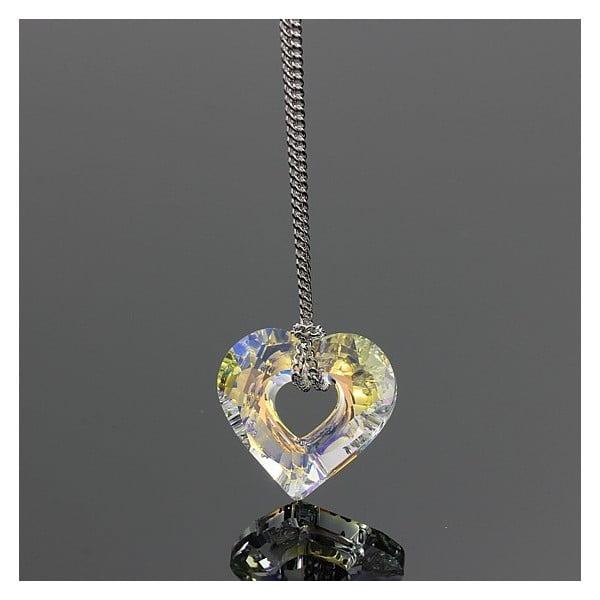 Colier Swarovski Elements Laura Bruni Crystal Valentine