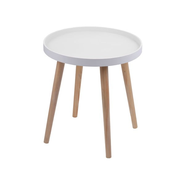 Stolek Simple Table 48 cm, bílý