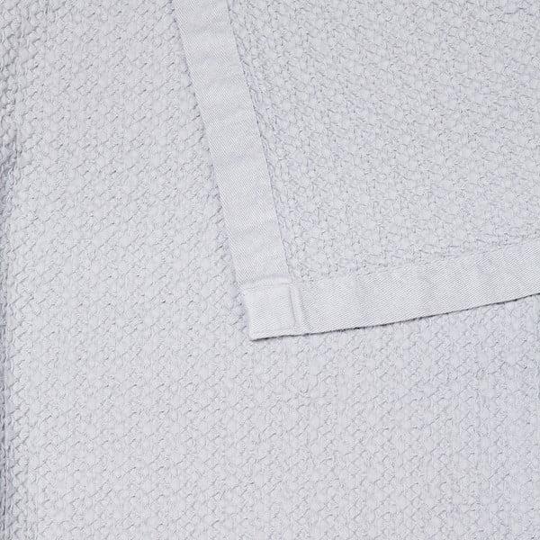 Bílý bavlněný přehoz Casa Di Bassi, 150x200cm