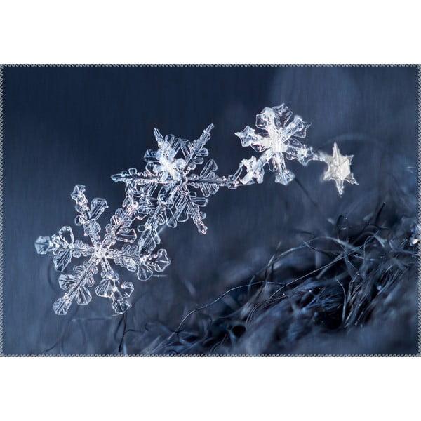 Dywan Vitaus Christmas Period Icy Snowflakes, 50x80 cm