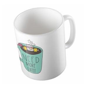 Keramický hrnek Butter Kings Need Coffee, 330 ml