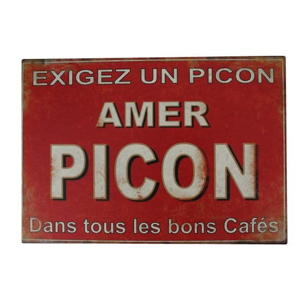 Kovová cedule Antic Line Amer Picon