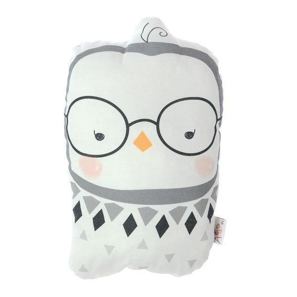 Pernă din amestec de bumbac pentru copii Apolena Pillow Toy Argo Birdie, 17 x 27 cm