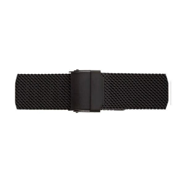 Dámské hodinky s páskem z nerezové oceli v černé barvě Emily Westwood Square