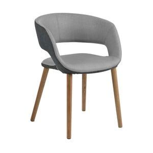 Světle šedá jídelní židle Actona Greta