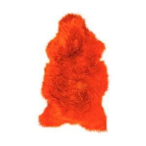Blană de oaie Swedo, 100 x 55 cm, portocaliu
