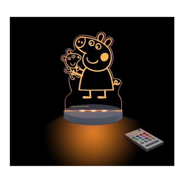 Detské LED nočné svetielko Peppa Pig Teddy