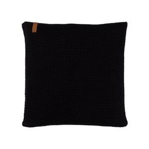 Polštář s náplní Sailor Knit Black, 50x50 cm