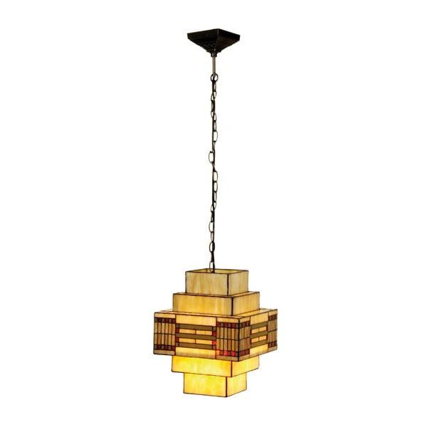 Tiffany závěsné světlo Cubic