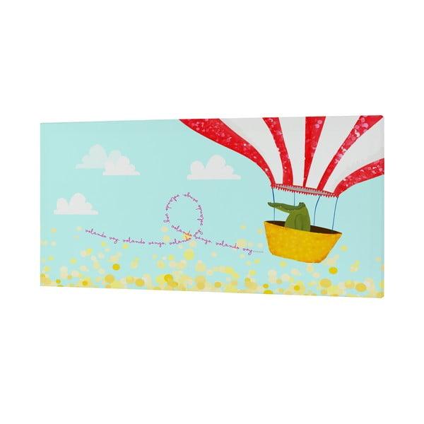 Nástěnný obrázek Ballon Ride, 27x54 cm